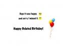 Belated Birthday (inside)