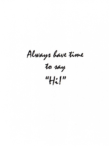 Always Have Time.inside