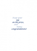Congratulations - Graduation (inside)